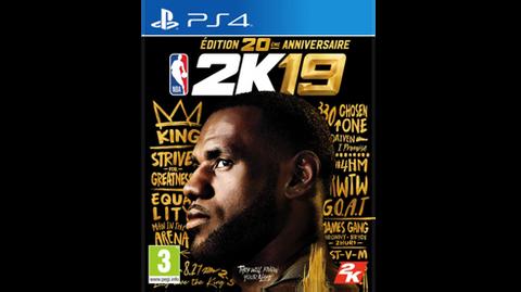 NBA 2k19 Edition 20ème Anniversaire