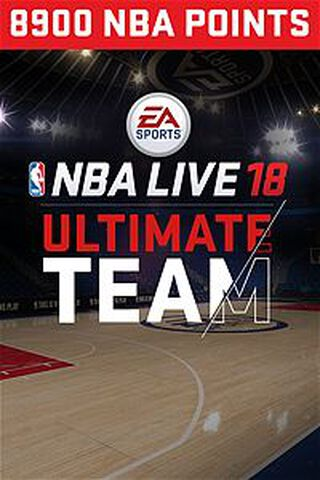 Dlc NBA Live 18 Ultimate Team 8 900 Pts Xbox One