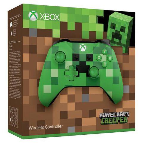 Manette Sans Fil Edition Limitée Minecraft Creeper