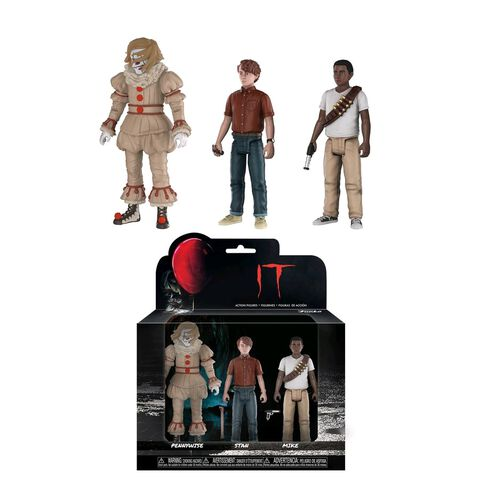 Figurines - Ca - 3 Pack Pennywise, Stan et Mike