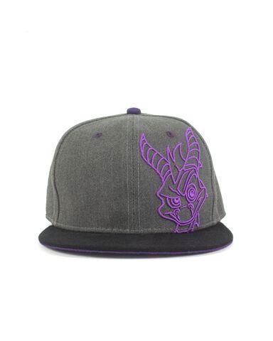 Casquette - Spyro - grise et violette