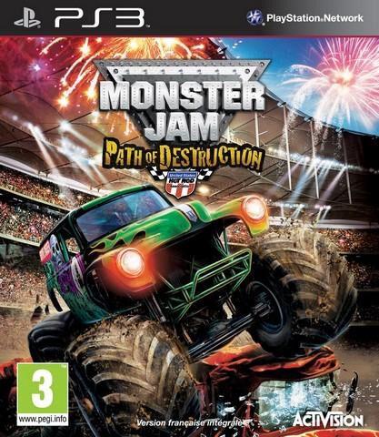Monster Jam : Path Of Destruction + Volant