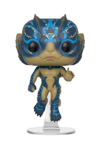 Figurine Funko Pop! N°637 - Shape Of Water - Amphibian Man Avec Glow (c)
