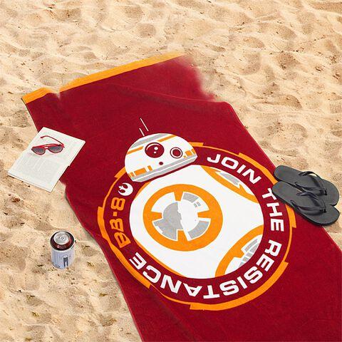 Serviette de plage - Star Wars - BB-8 - Exclusivité Micromania-Zing