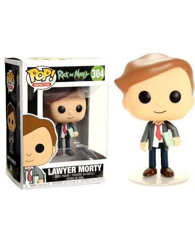 Figurine Funko Pop! N°304 - Rick and Morty S3 - Lawyer Morty