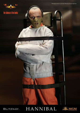 Figurine Blitzway - Le Silence des Agneaux - Hannibal Lecter camisolé 1/6