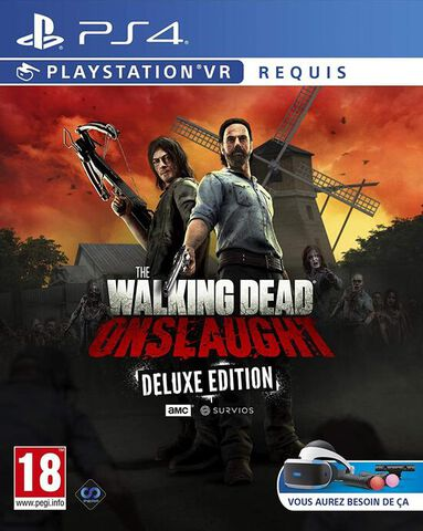 The Walking Dead Onslaught Deluxe Vr