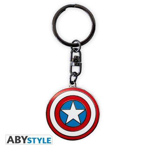 Coffret - Marvel - Verre 29 cl + Porte-clés + Mini Mug Captain America