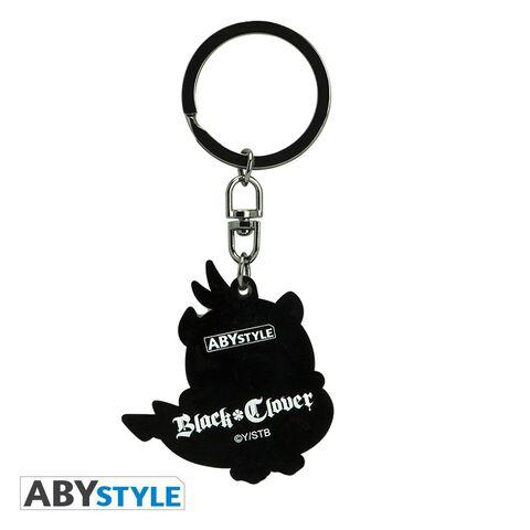 Porte-clés - Black Clover - Nero PVC