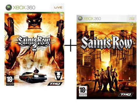 Pack Saints Row 1 + 2