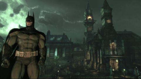 Batman, Arkham Asylum