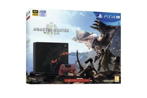 Playstation 4 Pro 1 To Edition Collector + Monster Hunter - Exclusivité Micromania
