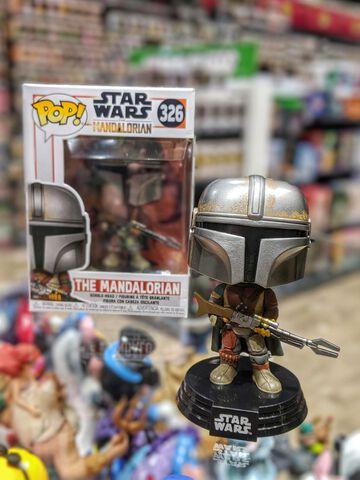 Figurine Funko Pop! N°326 - Star Wars Mandalorian - Mandalorien