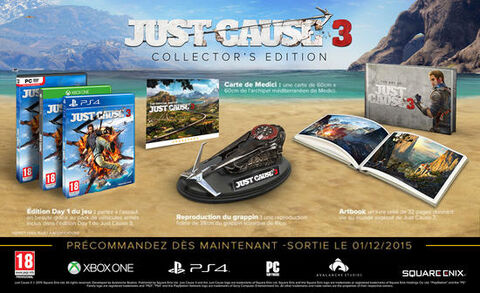 Just Cause 3 Edition Collector