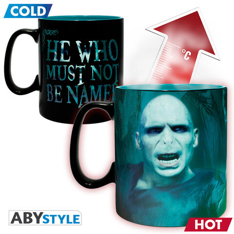 Mug Heat Change - Harry Potter - Voldemort 460 Ml