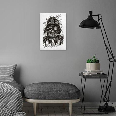 Poster Metallique - Star Wars - Dark Vador