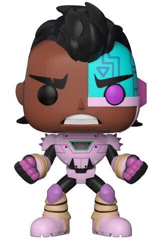 Figurine Funko Pop! N°605 - Teen Titans Go - Tnbts Série 1 Cyborg