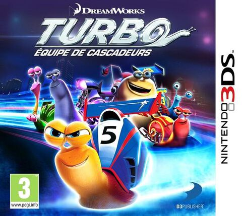 Turbo Equipe De Cascadeurs sur 3DS, tous les jeux vidéo 3DS sont ...