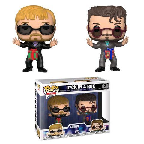 Figurine Funko Pop! - Saturday Night Live - Twin Pack D*ck in a box