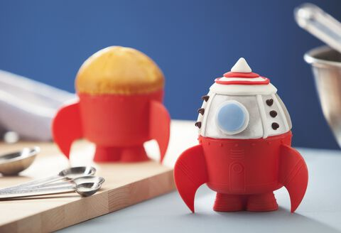 Moules à cupcake - Thinkgeek - Set de 6 fusées