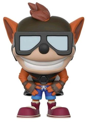 Figurine Funko Pop! N°274 - Crash Bandicoot - Bandicoot avec Jet Pack