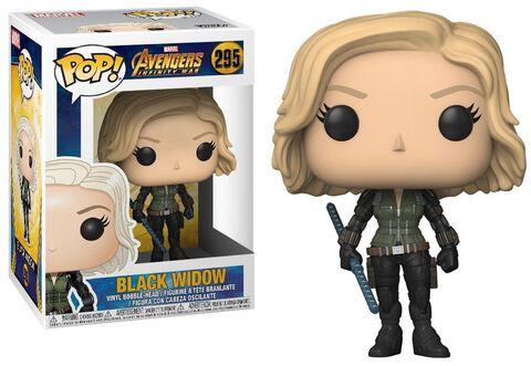 Figurine Funko Pop! N°295 - Infinity War - Black Widow