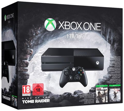 Pack Xbox One 1 To + Rise of The Tomb Raider