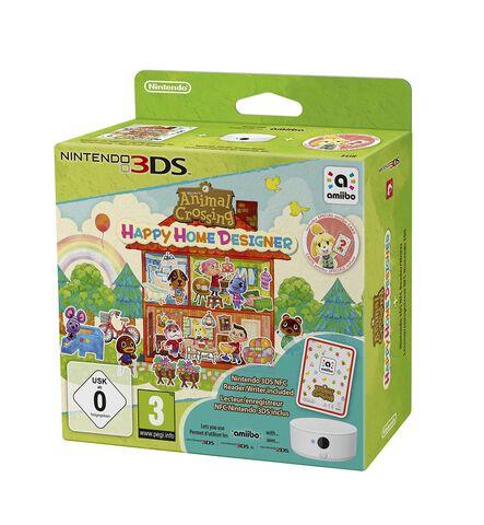 Animal Crossing Happy Home Designer + Lecteur/enreg. NFC + 1 Carte Amiibo Animal Crossing
