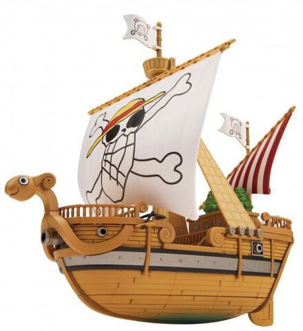 Maquette - One Piece - Grand Ship Collection - Going Merry Memorial Color Versio