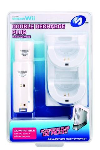Double Station De Recharge + Micromania Collection