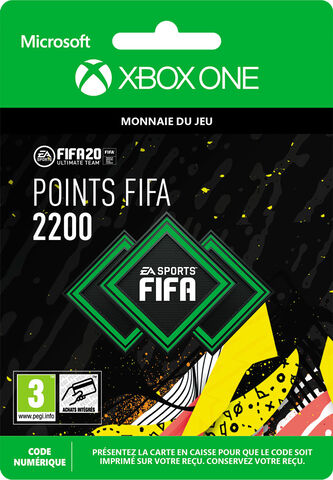 FIFA 20 - Xbox One - FIFA Ultimate Team - 2200 Pts