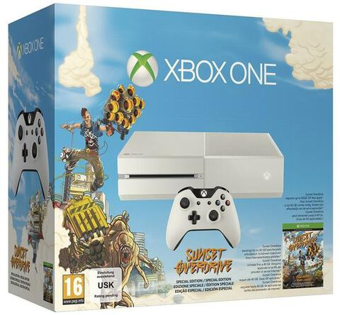 Pack Xbox One Blanche + Sunset Overdrive - Exclusivité Micromania