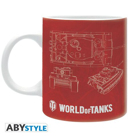 Mug - World of Tanks - Croquis 320 ml