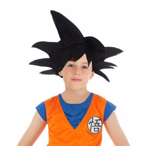 Perruque - Dragon Ball - Goku Saiyan Enfant Noire