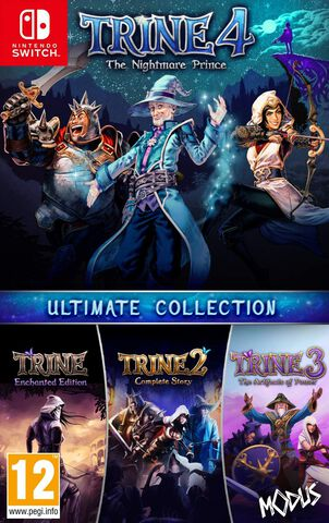 Trine 4 The Nightmare Prince Ultimate Collection