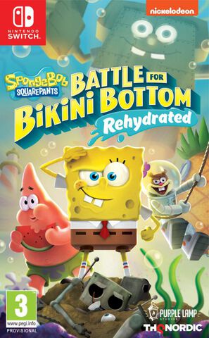 Spongebob Squarepants Batlle For Bikini Bottom Rehydrated