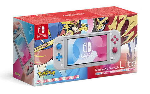 Nintendo Switch Lite Edition Zacian & Zamazenta
