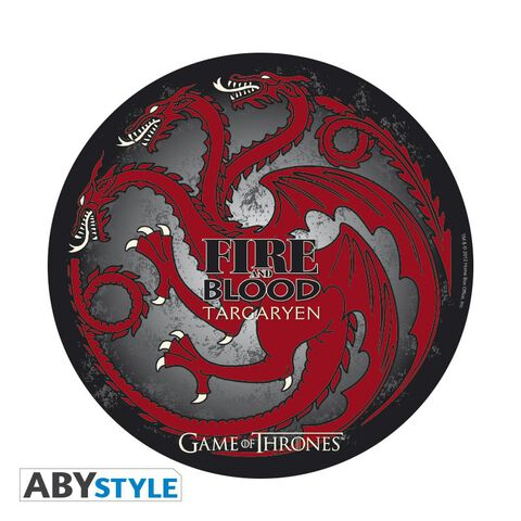 Tapis de souris - Game of Thrones - Targaryen en forme