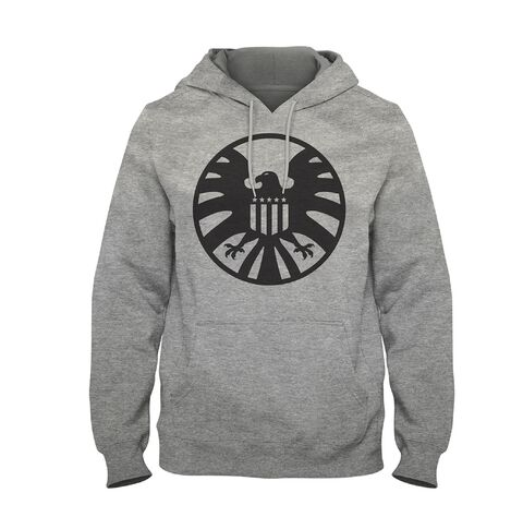 Sweat Homme - Avengers - Endgame Shield Logo - Gris - Taille M