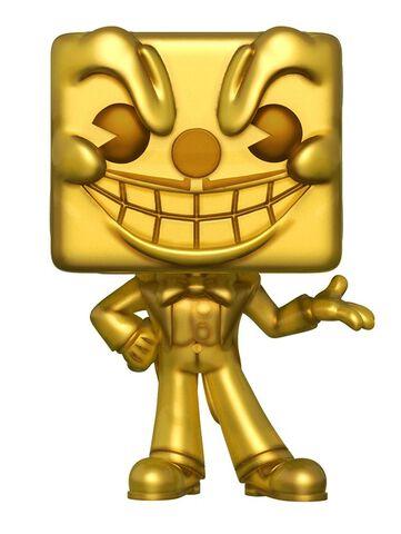 Figurine Funko Pop! N°313 - Cuphead - King Dice (doré) (E3) - Exclusivité Micromania-Zing