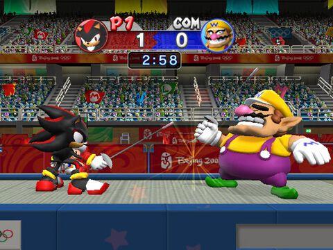 Mario & Sonic, Aux Jeux Olympiques