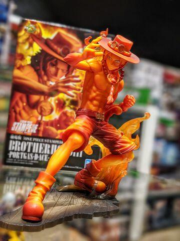 Figurine - One Piece Stampede - Brotherhood Portgas 14 Cm