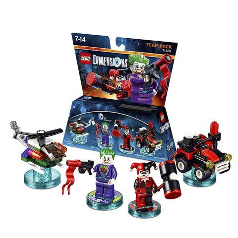 Pack Equipe Lego Dimensions Joker & Harley Quinn DC Comics