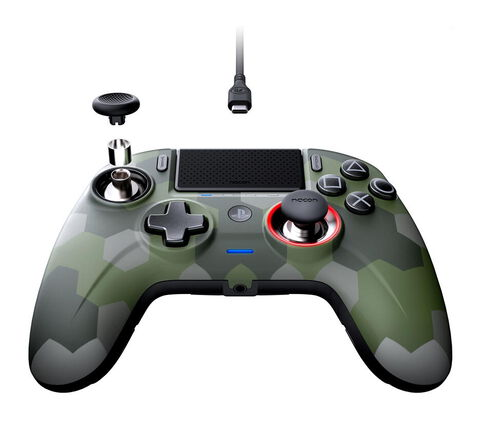 Manette Officielle Revolution Unlimited Pro Controller Camo Green