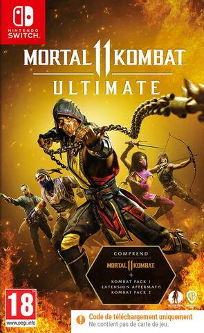 Mortal Kombat 11 Ultimate (code In Box)
