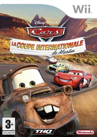 Cars, La Coupe Internationale De Martin