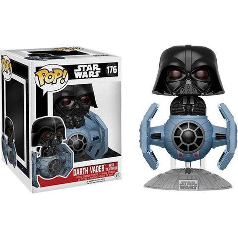 Figurine Toy Pop N°176 - Star Wars - Dark Vador avec Tie Fighter Deluxe