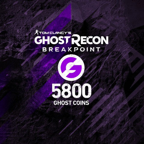 Ghost Recon Breakpoint - Dlc - 4800 (+1000) Ghost Coins