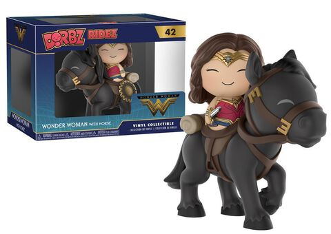 Figurine Dorbz - Dc Comics - Wonder Woman A Cheval