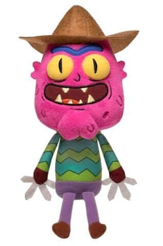 Peluche - Rick Et Morty - Galactic Plushies Scary Terry